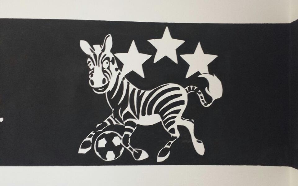 Cameretta super tifoso Juventus